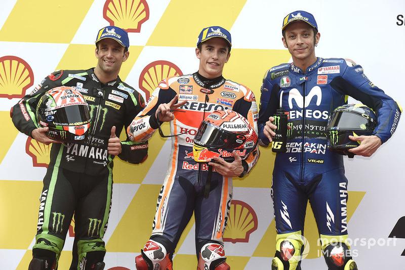 Ki-ka: Johann Zarco, Monster Yamaha Tech 3, Marc Marquez, Repsol Honda Team, Valentino Rossi, Yamaha Factory Racing