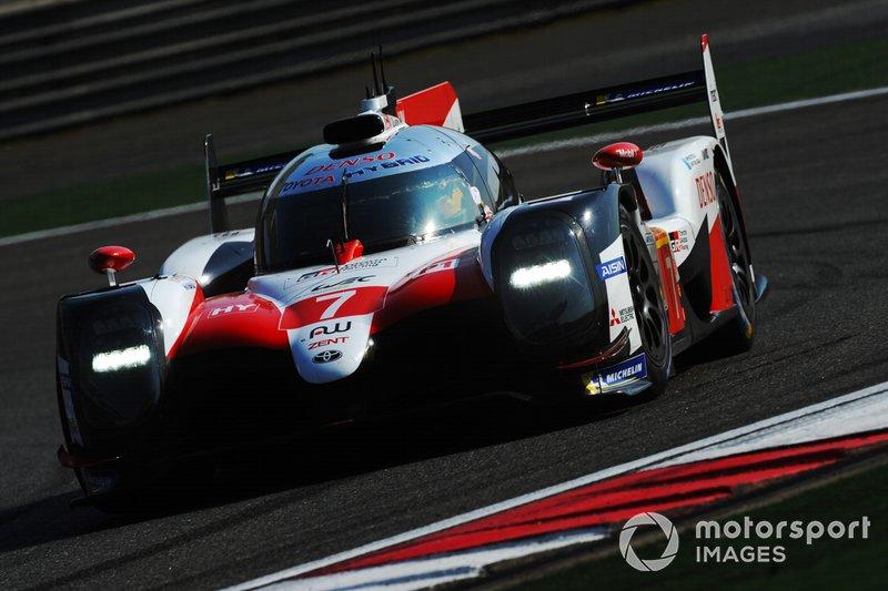 #7 Toyota Gazoo Racing Toyota TS050: Mike Conway, Kamui Kobayashi, Jose Maria Lopez