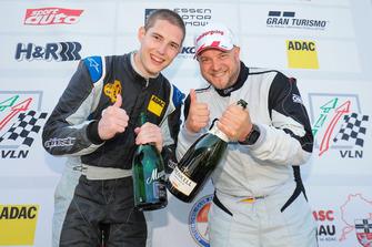 Podium: #806 mathilda racing Seat Cupra TCR: Andreas Gülden, Moritz Oestreich