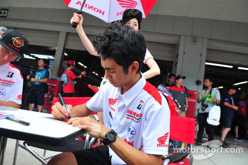 #22 Honda Asia-Dream Racing: Andi Gilang