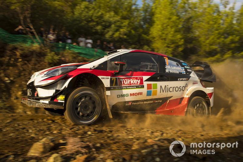 Jari-Matti Latvala, Miikka Anttila, Toyota Gazoo Racing WRT Toyota Yaris WRC McKlein