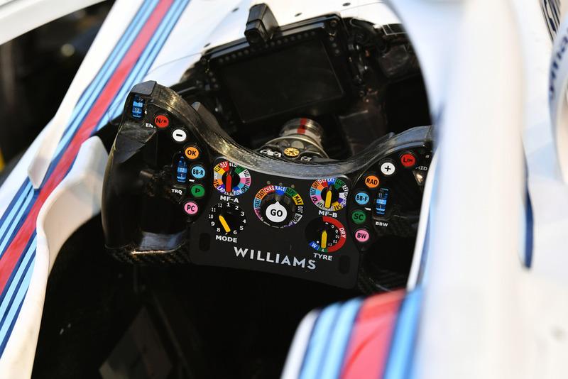 Williams FW41 steering wheel