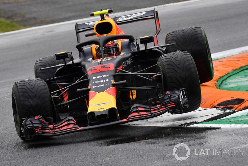 5 місце — Макс Ферстаппен, Red Bull. Умовний бал — 18,33