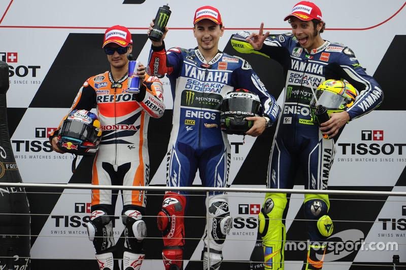 Yamaha, 2013: Valentino Rossi e Jorge Lorenzo