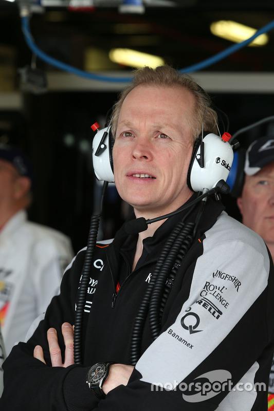Andrew Green, Sahara Force India F1 Team technisch directeur