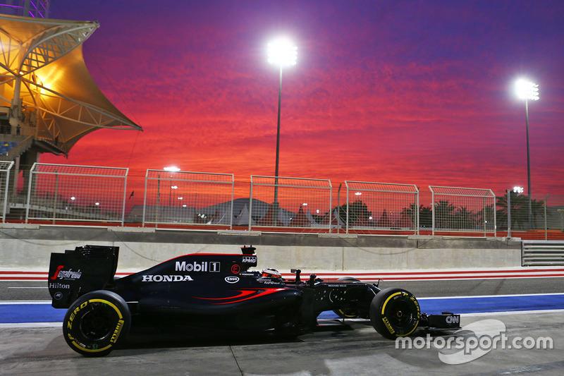 Stoffel Vandoorne, GP Bahrein 2016, McLaren