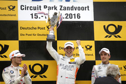 Podium: Race winner Robert Wickens, Mercedes-AMG Team HWA, Mercedes-AMG C63 DTM; second place Marco