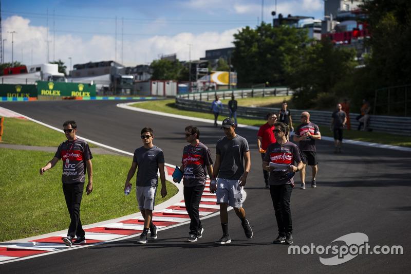 Mitch Evans, Pertamina Campos Racing and Sean Gelael, Pertamina Campos Racing