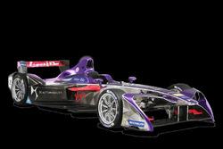 DS Virgin Racing DSV-02, nuova livrea