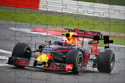 Pierre Gasly, Red Bull Racing RB12 puzzle