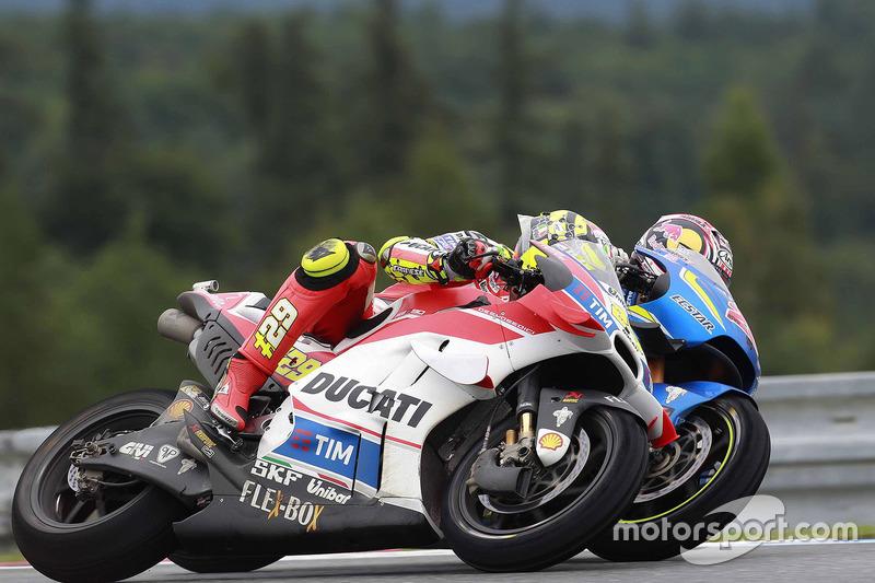 Andrea Iannone, Ducati Team, Maverick Viñales, Team Suzuki MotoGP