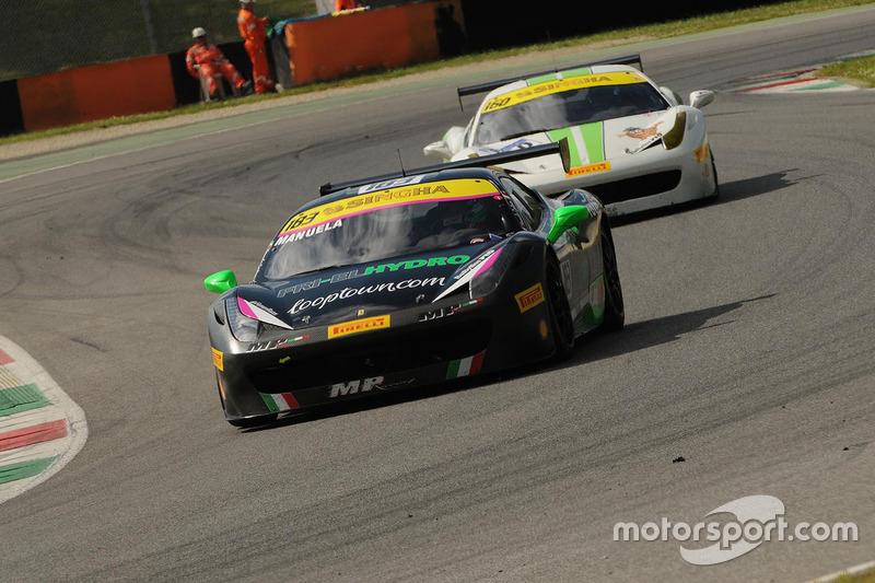 #183 Ineco MP Racinig, Ferrari 458: Manuela Gostner
