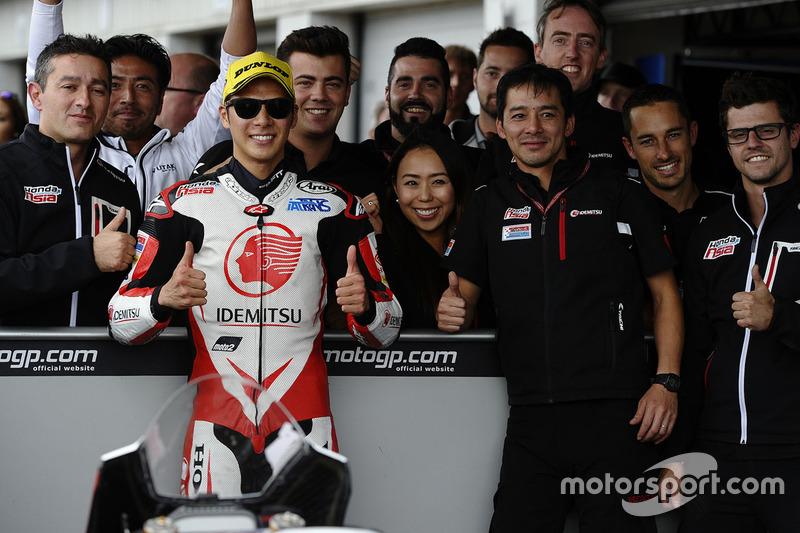 Third place Takaaki Nakagami, Honda Team Asia