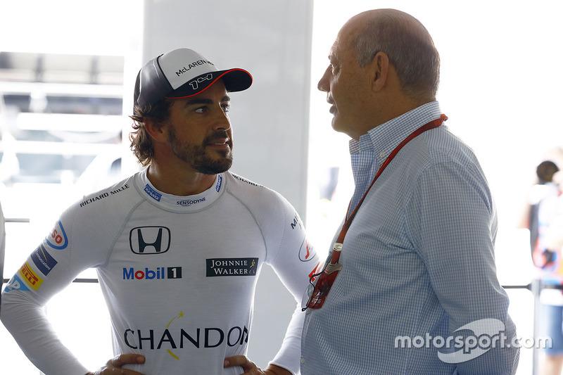 Фернандо Алонсо, McLaren и Рон Деннис, руководитель McLaren