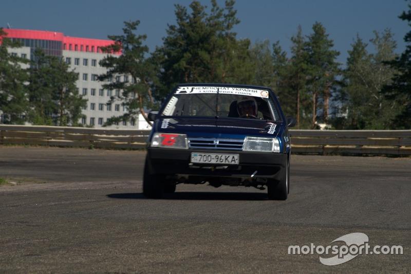 Сергій Юнашев - гонка 1