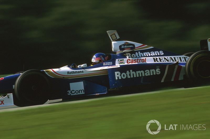 24. Jacques Villeneuve: 101 grandes premios (el 61,96% de los disputados)