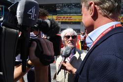 Bernie Ecclestone, habla con David Coulthard