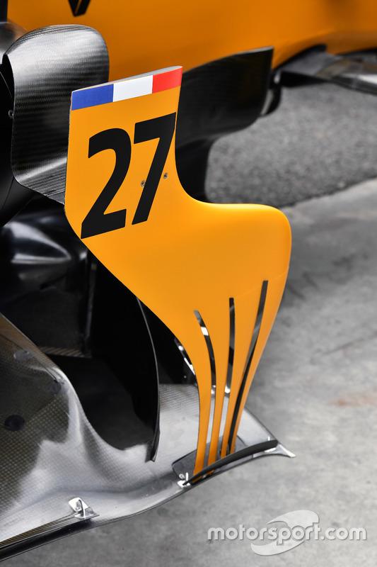 Бічний дефлектор Renault Sport F1 Team RS17