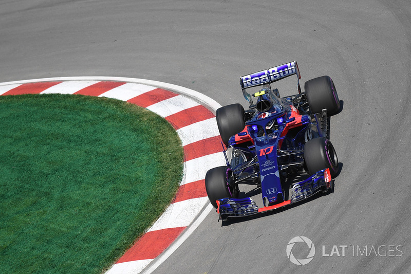 20. Pierre Gasly, Scuderia Toro Rosso STR13