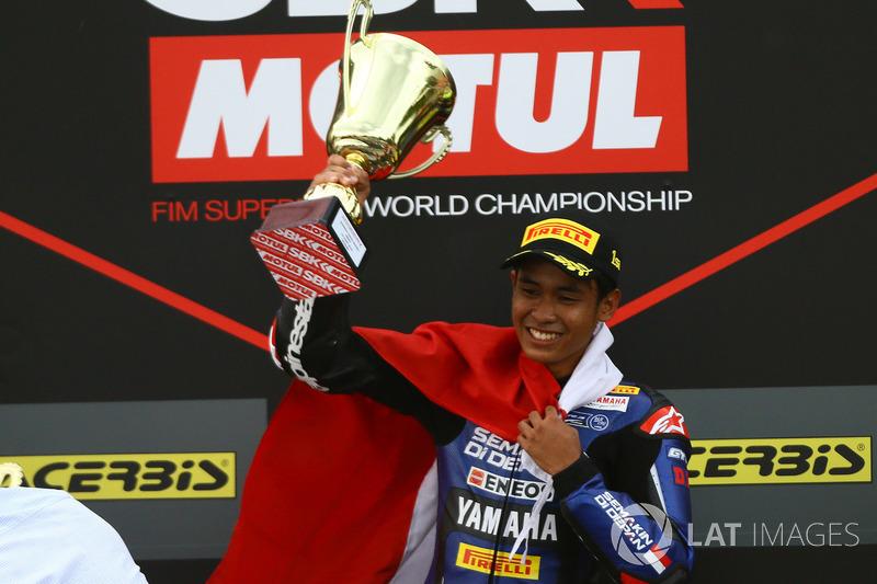 WorldSSP300 Brno 2018: Galang Hendra, Yamaha MotoX Racing