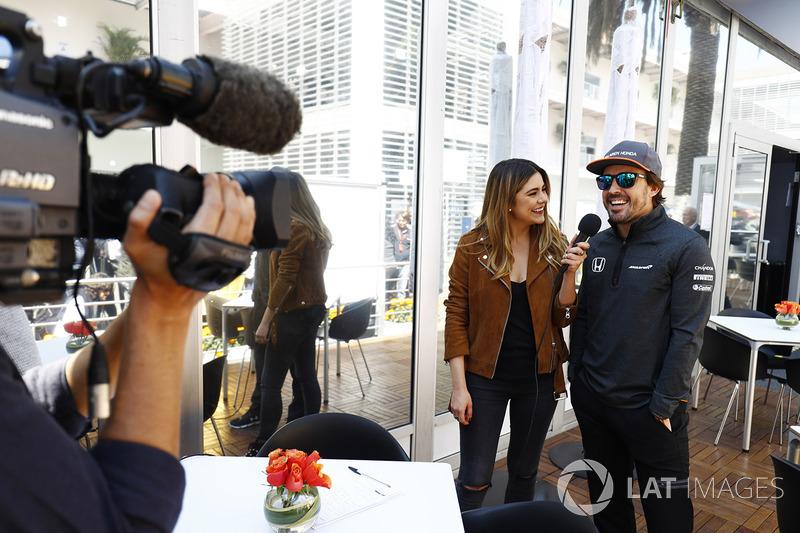Fernando Alonso, McLaren en una entrevista