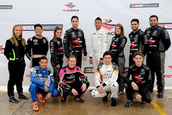 2017 NASCAR Drive for Diversity Combine participants pose for a group
