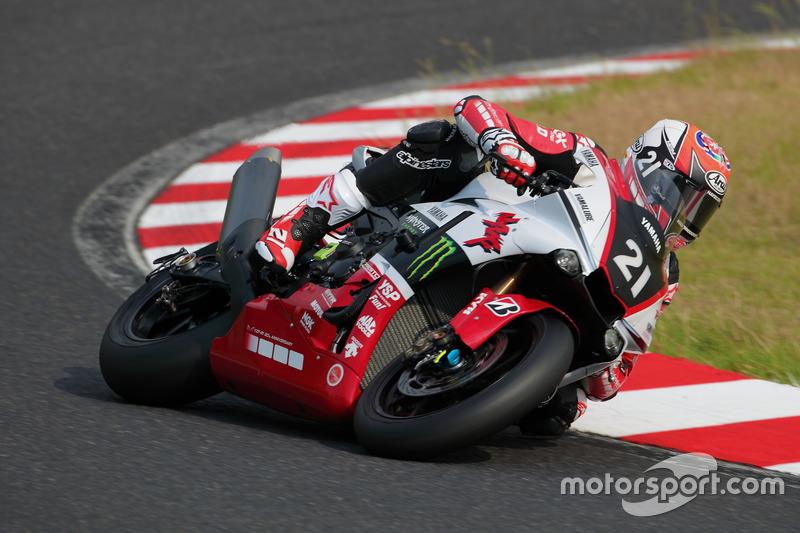 Katsuyuki Nakasuga, Alex Lowes, Michael van der Marc, Yamaha Factory Racing Team