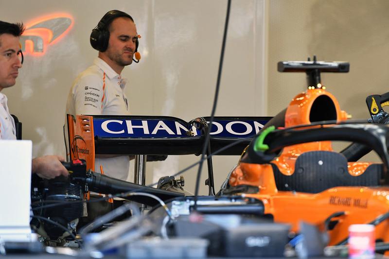 McLaren MCL33 arka kanadı