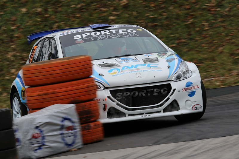 Emanuele Zecchin, Antonio Forato, Peugeot 208 T16