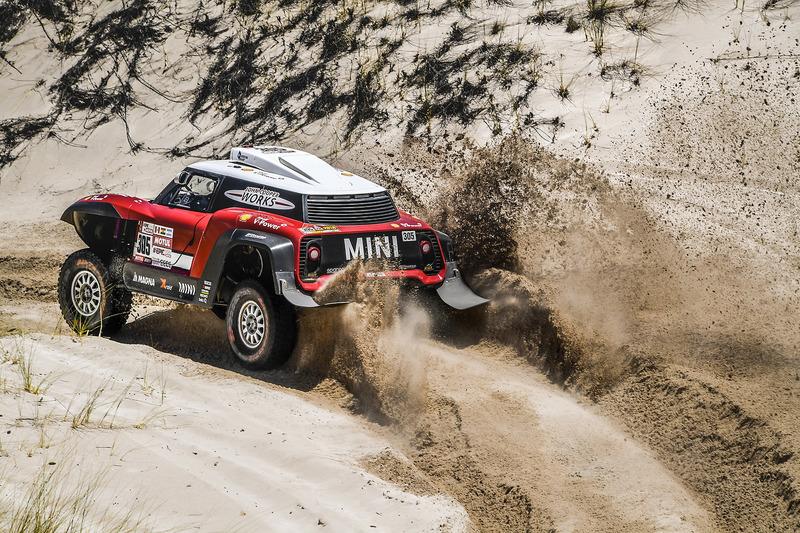 Микко Хирвонен и Андреас Шульц, X-Raid Team, MINI John Cooper Works Buggy