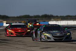 Кэтрин Легг, Алвару Парент, Трент Хиндман, Michael Shank Racing, Acura NSX (№86)