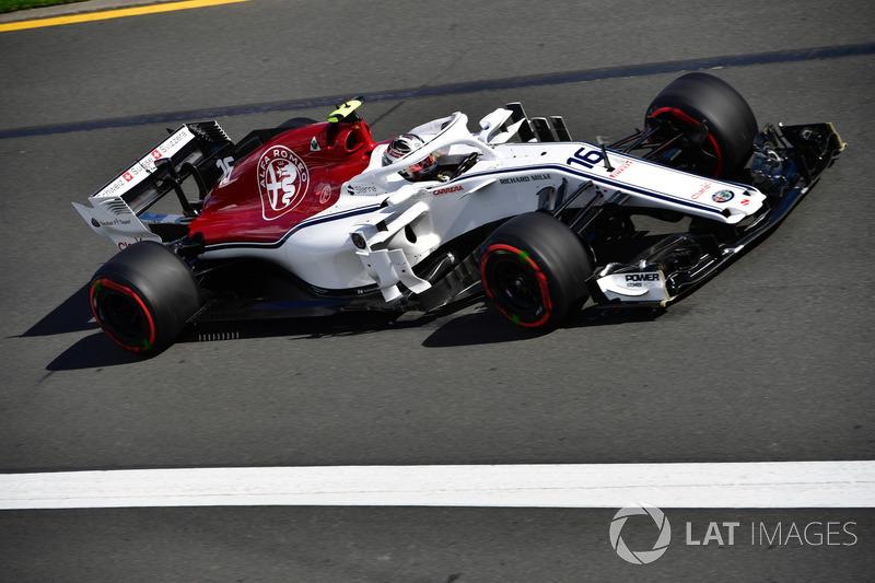 13e : Charles Leclerc (Alfa Romeo Sauber)