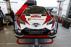 Car of Esapekka Lappi, Janne Ferm, Toyota Gazoo Racing WRT Toyota Yaris WRC