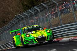#912 Manthey Racing Porsche 911 GT R: Patrick Pilet, Fred Makowiecki, Nick Tandy