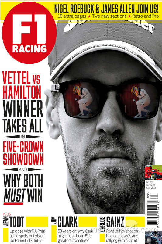 Обкладинка травневого F1 Racing