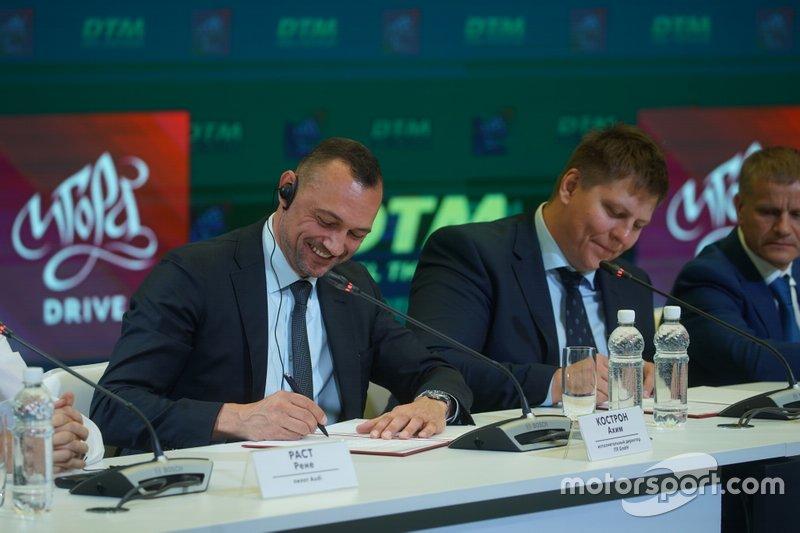 DTM Russia announcement