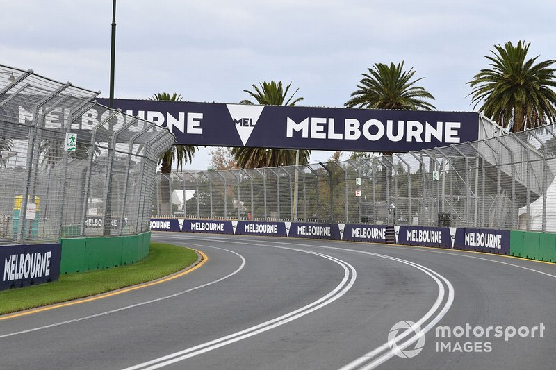 Detalle del circuito de Melbourne