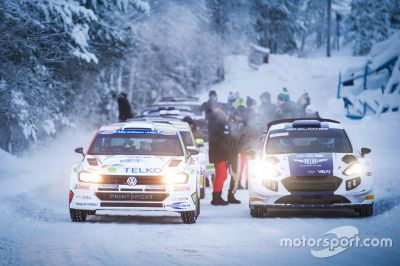 Valtteri Bottas M-Sport test