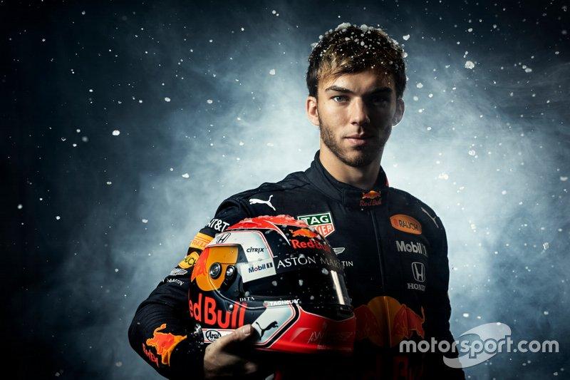 #10 Pierre Gasly, Red Bull Racing (Llega de Toro Rosso)