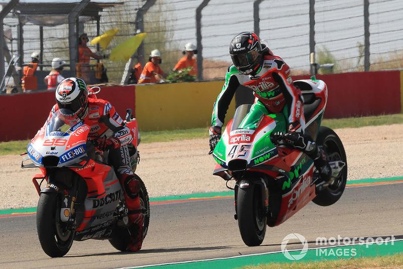 Хорхе Лоренсо, Ducati Team, Скотт Реддінг, Aprilia Racing Team Gresini