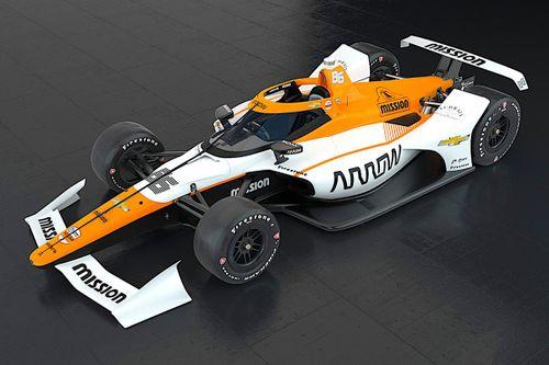 Carro de Montoya para a Indy 500 de 2021