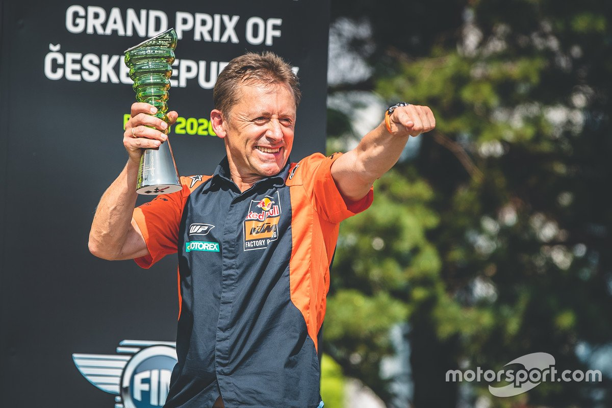 Mike Leitner, Red Bull KTM Factory Racing Team Manager