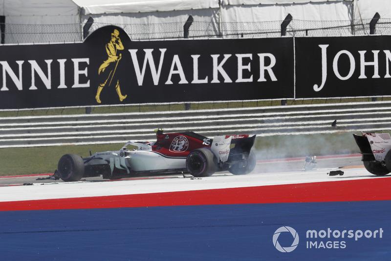 Abandon : Charles Leclerc (Alfa Romeo Sauber)
