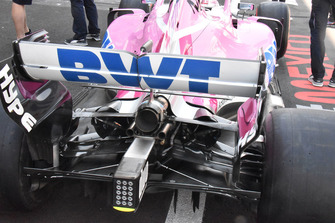 Racing Point Force India VJM11, retrotreno