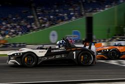 David Coulthard, driving the VUHL 05