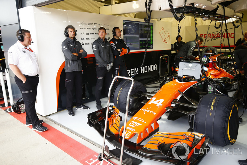 Zak Brown, Director Ejecutivo McLaren Technology Group
