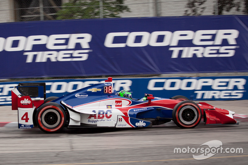 Conor Daly, A.J. Foyt Enterprises Chevrolet