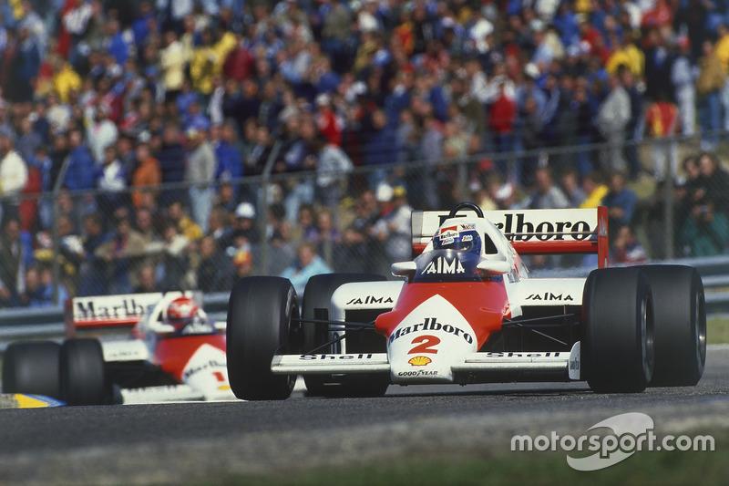 マクラーレンMP4/2B・TAG(アラン・プロストとニキ・ラウダ/1985年オランダGP)