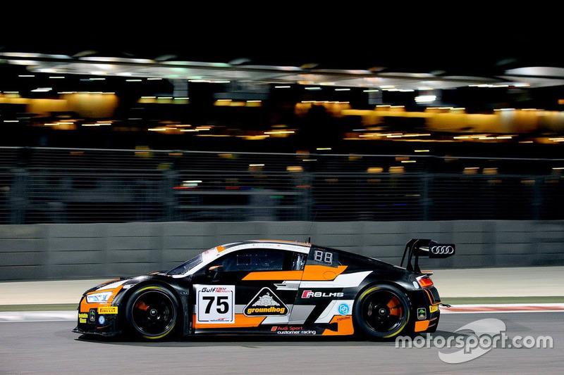 #75 Optimun Motorsport Audi R8 LMS GT3: Flick Haigh, Joe Osborne, Ryan Ratcliffe