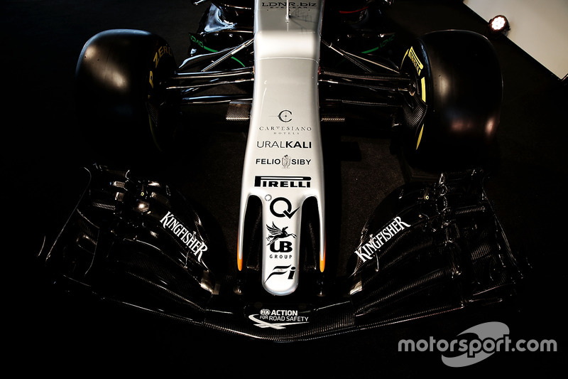 印度力量 VJM10 赛车 - 前鼻翼